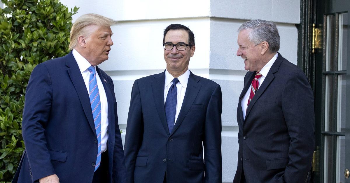 Trump's economic team accused of 'sabotaging' Biden before exiting