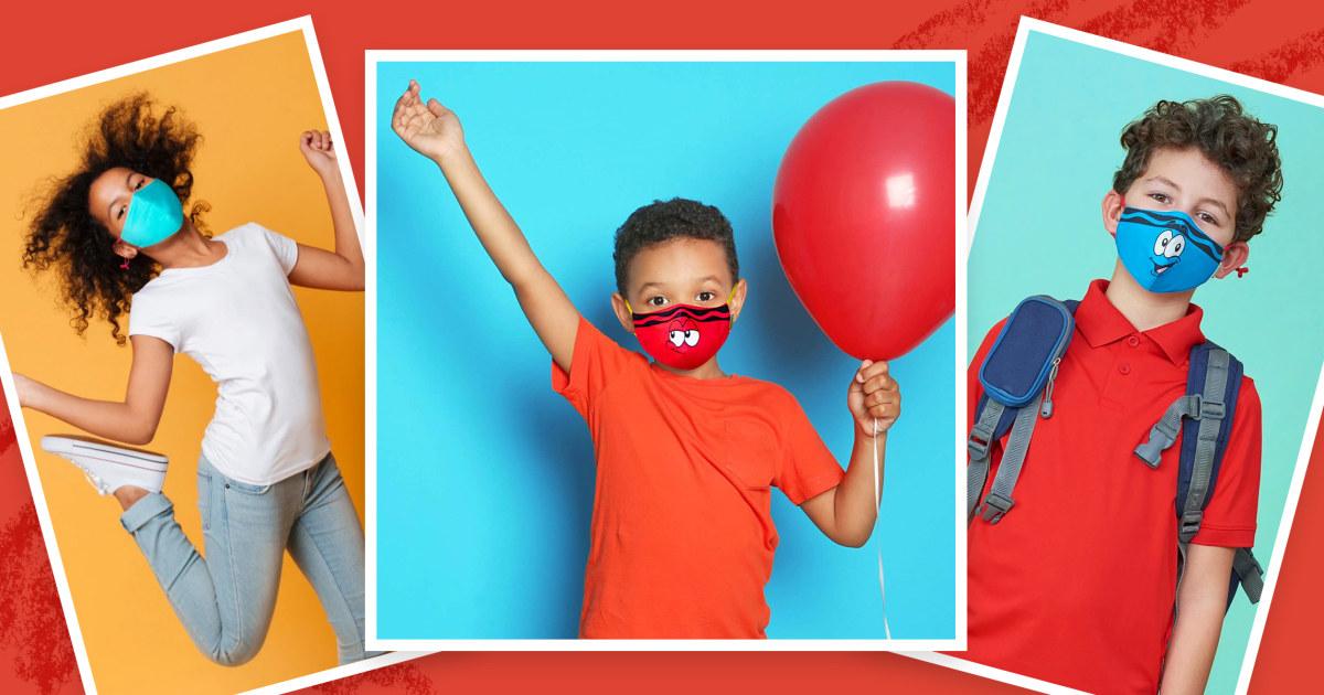 Coronavirus shopping: New kids' face masks thumbnail