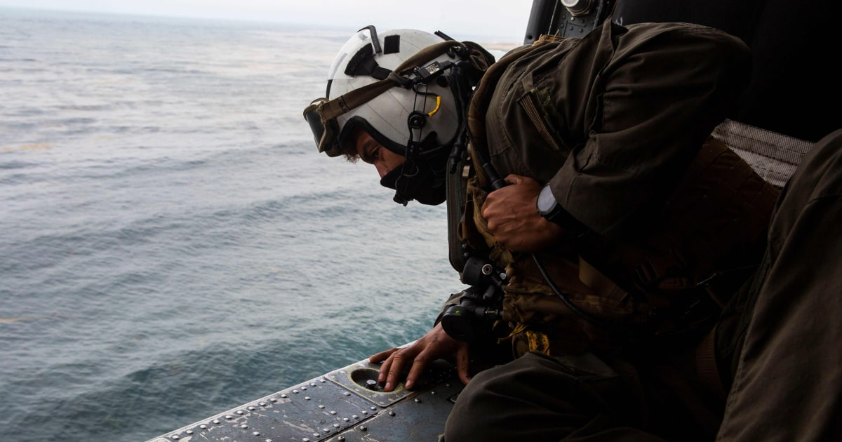 8 missing service members presumed dead after training 'mishap' off California coast – NBC News