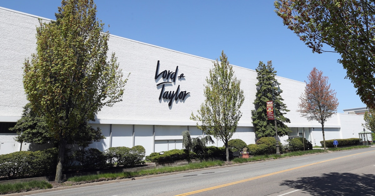 Lord & Taylor Men's Wearhouse owner file for bankruptcy – NBC News