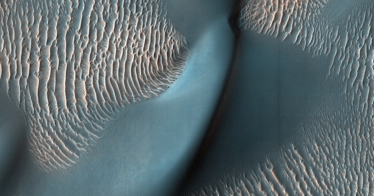How windy is it on Mars? Sand 'megaripples' offer a clue. - NBCNews.com