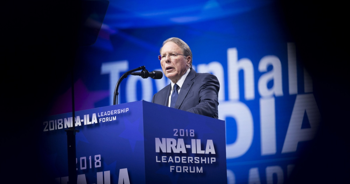 "Wayne LaPierre allegedly used the NRA as a ""personal piggy bank."" New York AG lays out how. 
