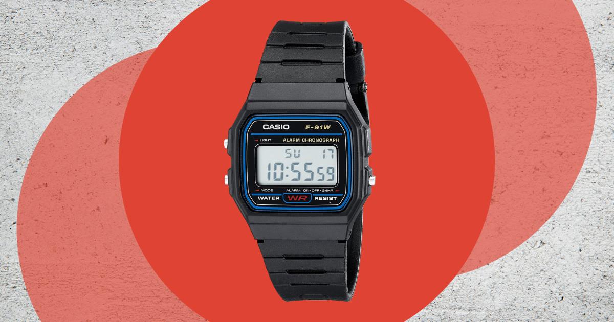Why one editor always keeps handy a $13 Casio digital watch