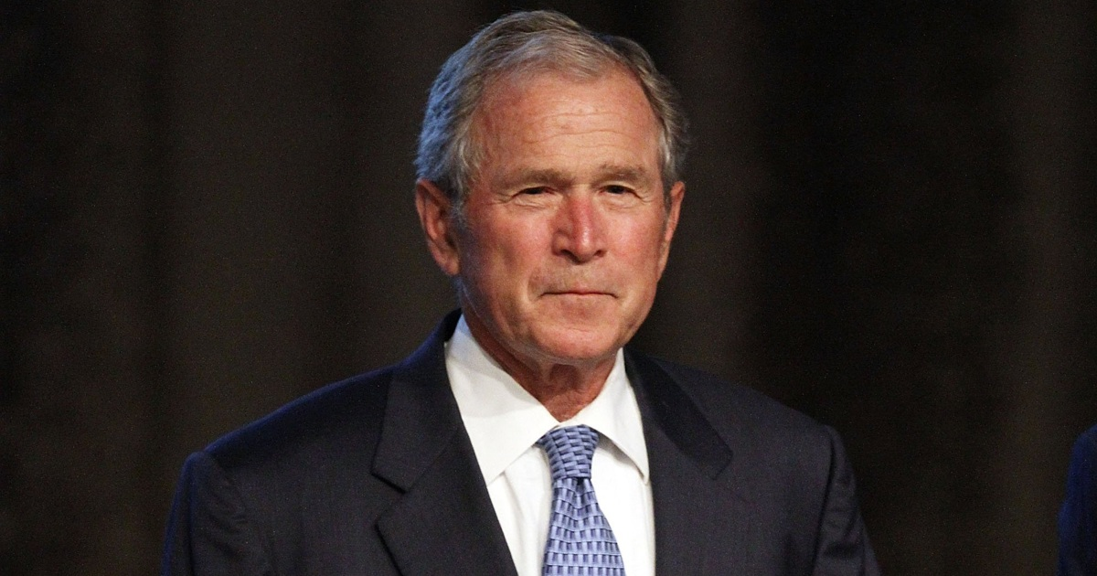 Bush to publish book with his paintings of 43 immigrants thumbnail