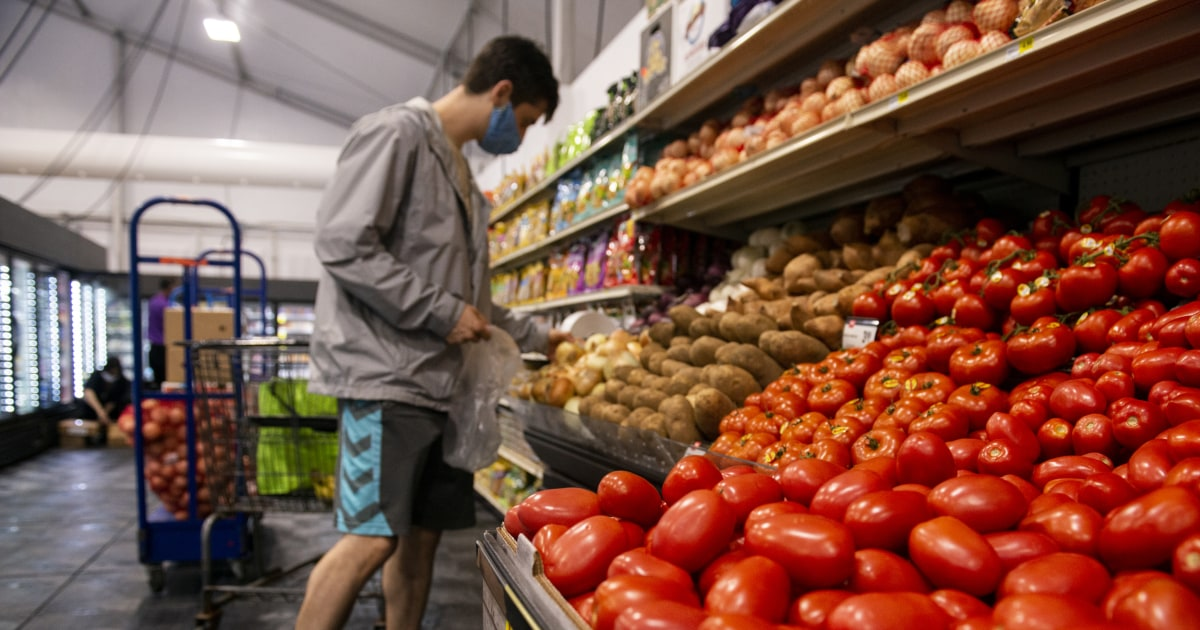 Pandemic grocery prices shot up like a rocket and fell like a feather, even after supplies recovered