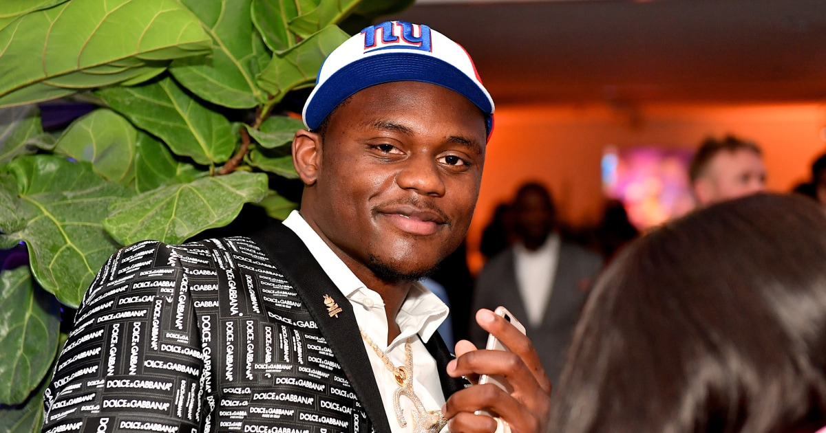 DeAndre Baker of New York Giants charged with robbery with a firearm in Florida – NBC News