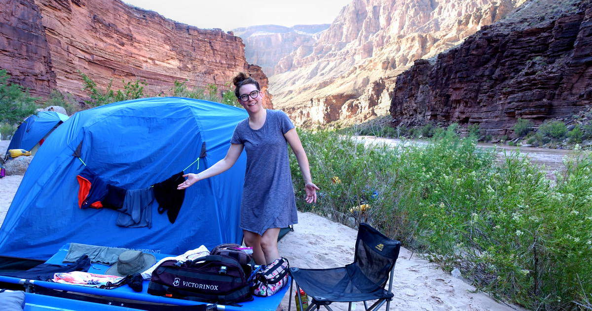 Opinion | Camping in the Grand Canyon with my sister sounded like a great idea — at first