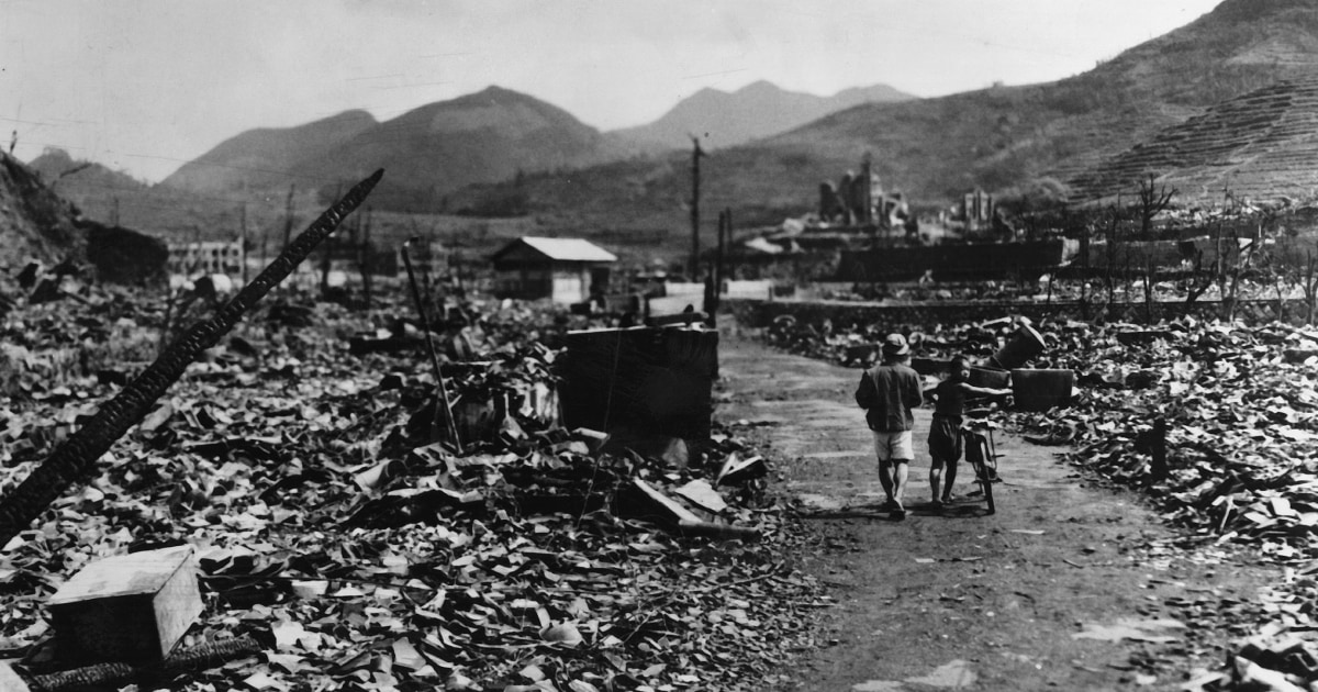 www.nbcnews.com: Dr. Masao Tomonaga Surviving the nuclear bomb at Nagasaki 75 years ago showed me nuclear weapons shouldn't exist