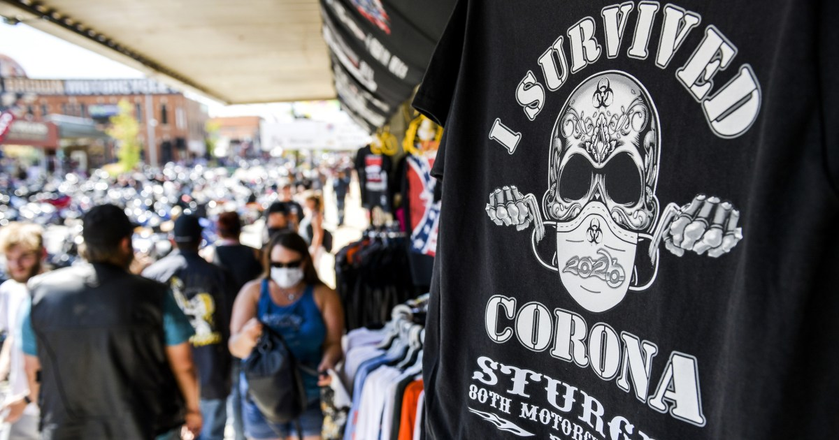 Sturgis motorcycle rally draws thousands of bikers despite coronavirus fears – NBC News