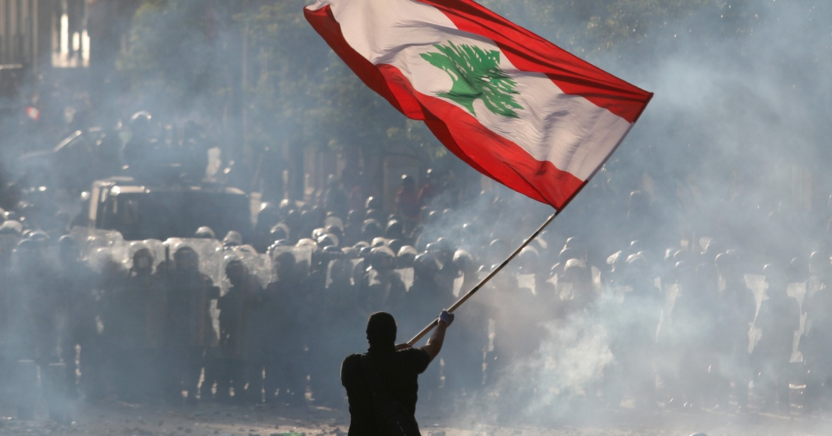 Islamic Emergency and Relief Corp: Anger and despair in Beirut as protesters...