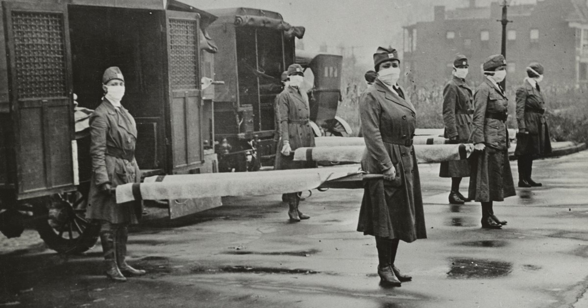 www.nbcnews.com: COVID-19's death toll in New York City was similar to the 1918 flu