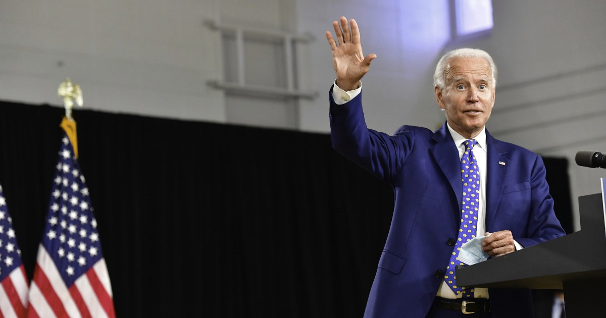 Biden campaign puts VP team in place ahead of announcement – NBC News