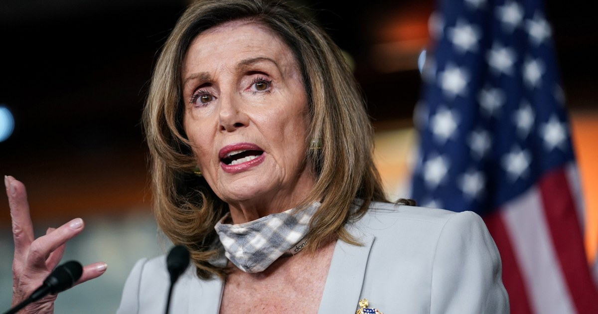 www.nbcnews.com: Pelosi calls Trump's opposition to mail-in voting a 'contradiction'