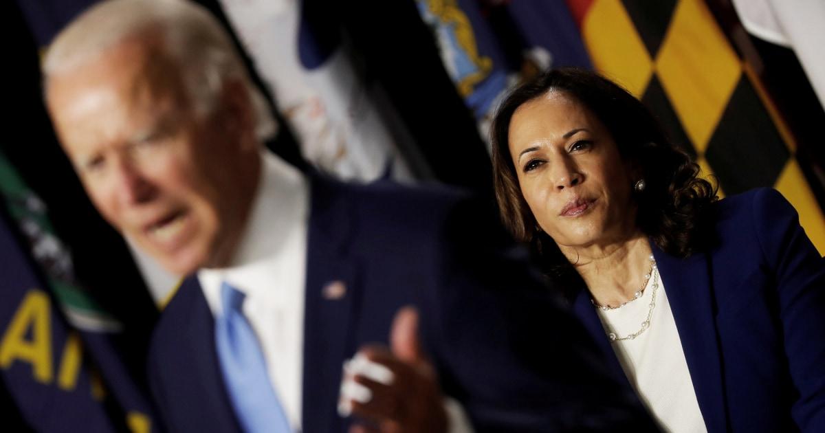 Here are the Trump battleground states that Harris can help Biden retake – NBC News
