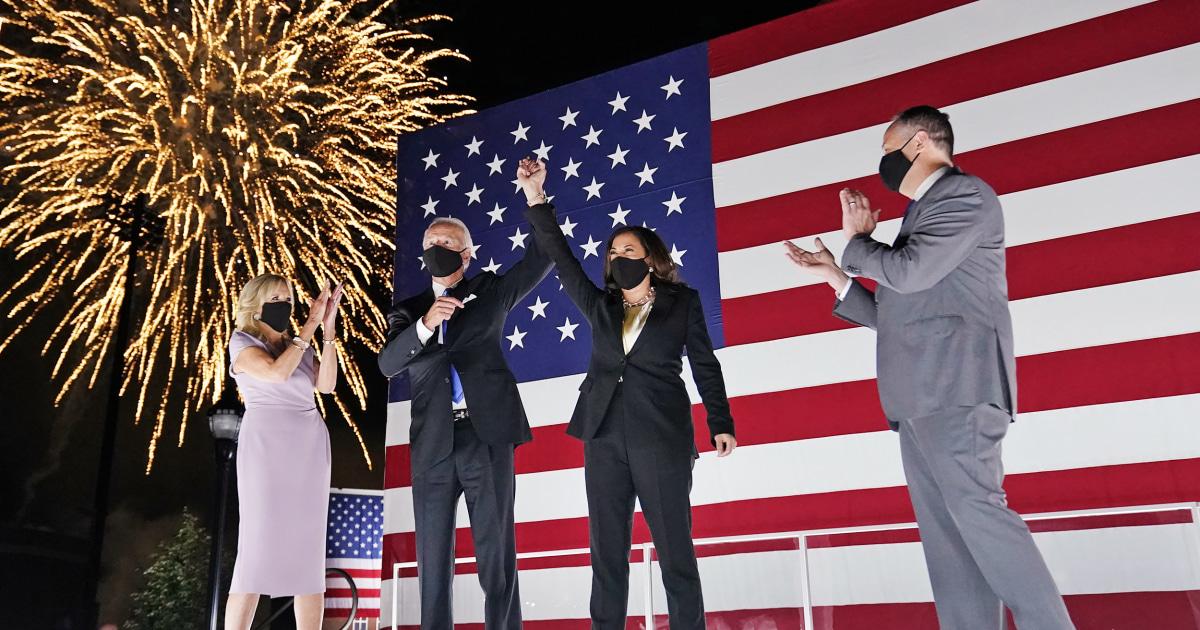 Joe Biden Accepts Presidential Nomination on Night 4 of the DNC