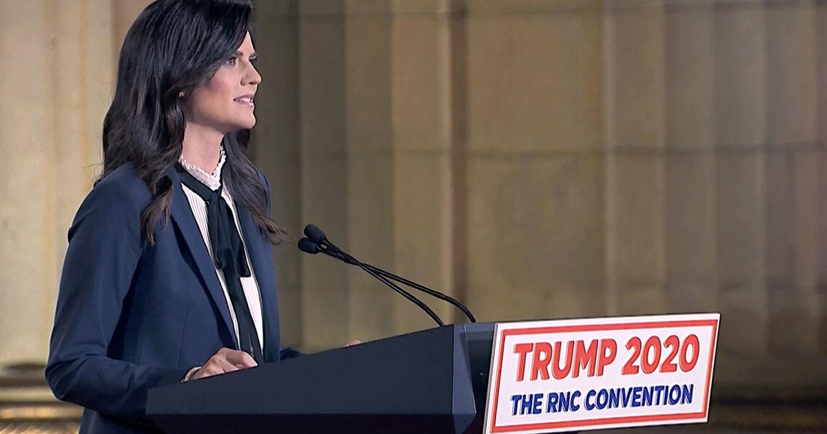 Cissie Graham Lynch attacks transgender rights in RNC speech – NBC News