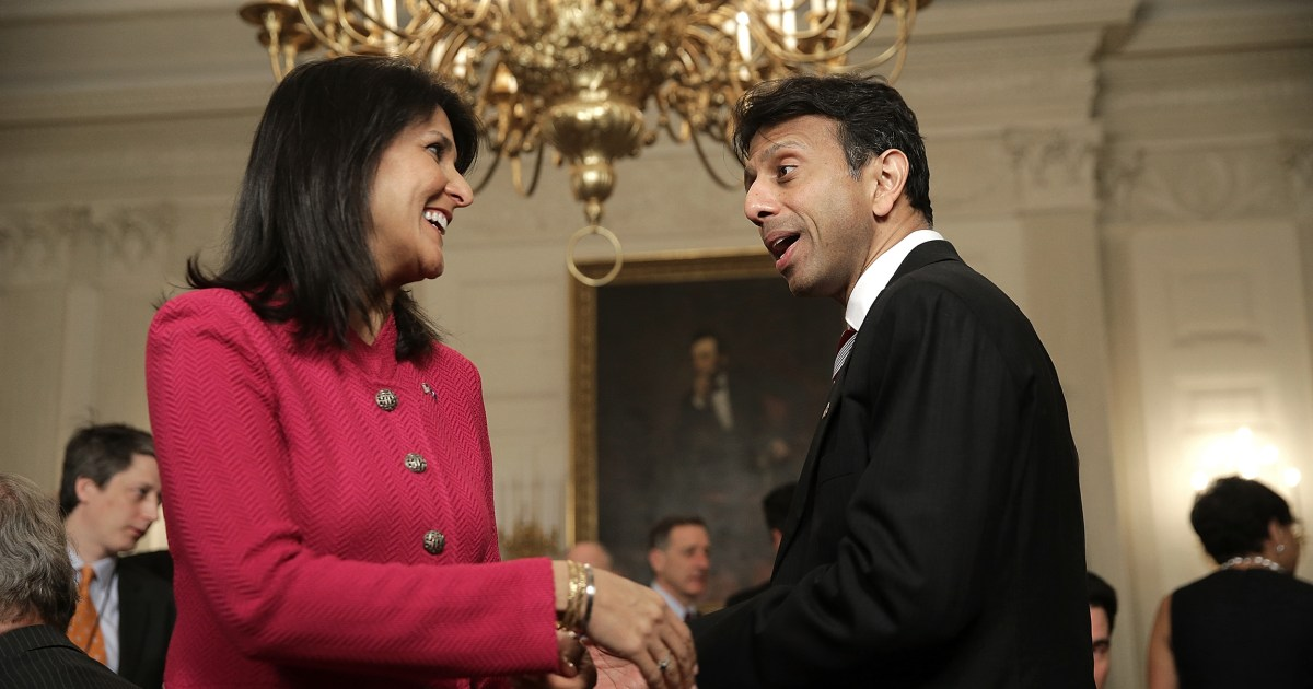 www.nbcnews.com: Nikki Haley, Bobby Jindal and on-and-off relationships with Indian American identity