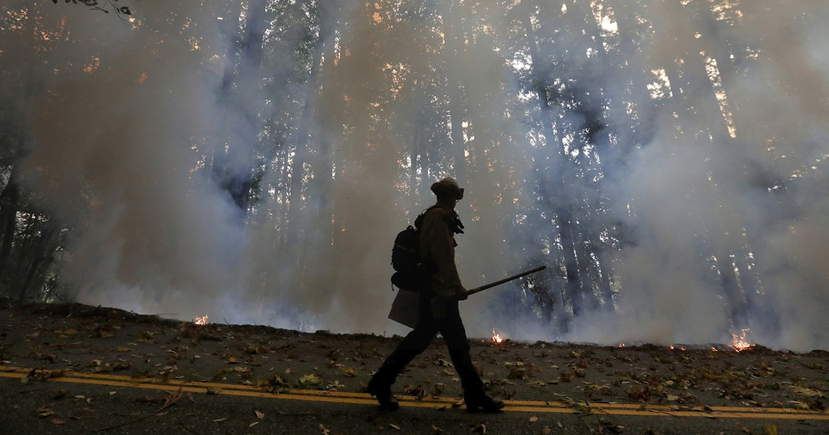 Federal firefighter units juggle COVID-19 infection on fire lines