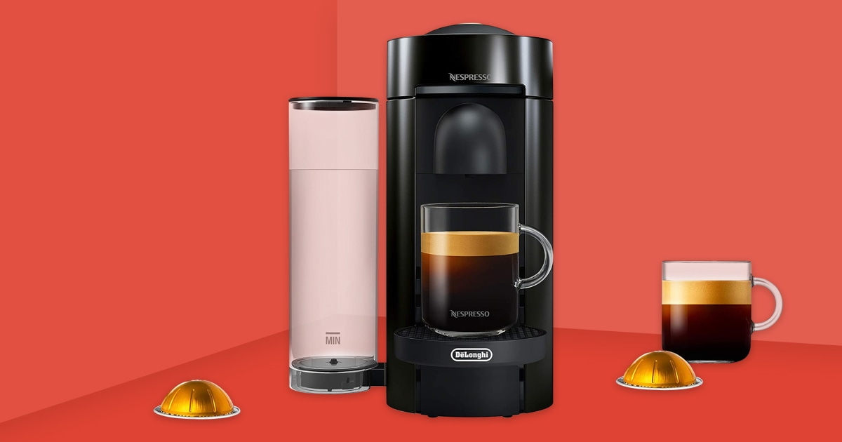 Nespresso's VertuoPlus: The best coffee and espresso machine