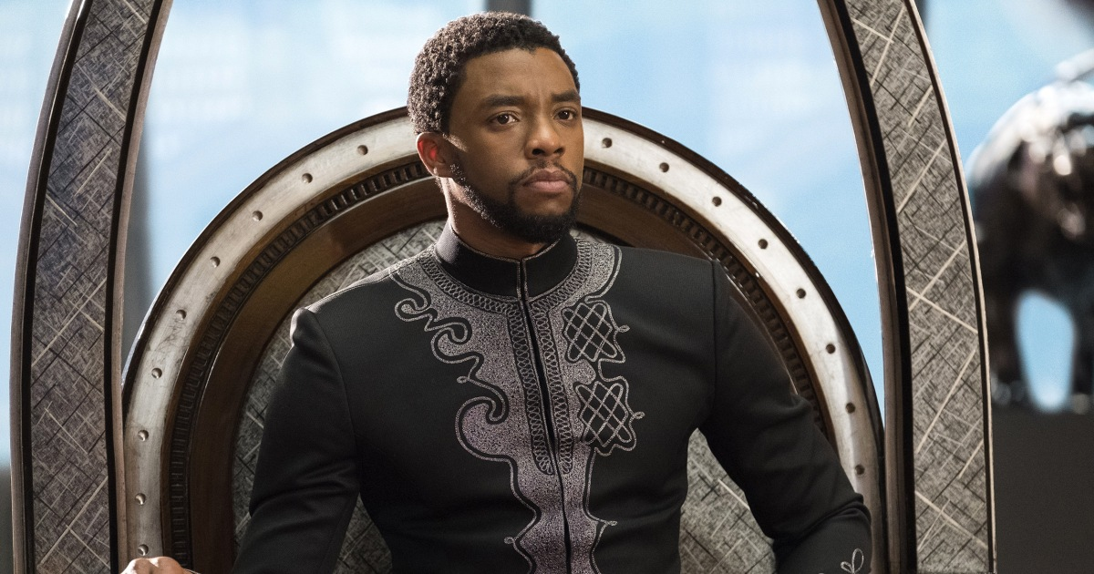 Chadwick Boseman played icons — and then became one