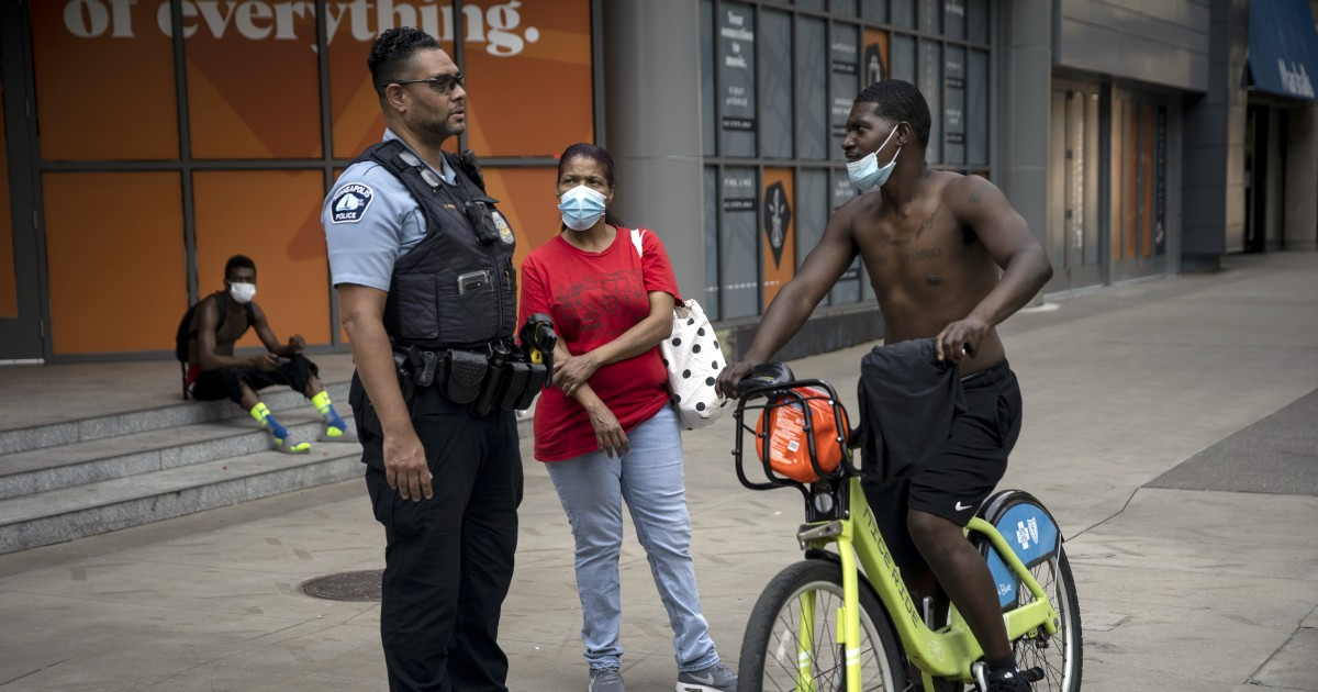 Marred by trauma after George Floyd's death, Minneapolis hit with second wave of looting