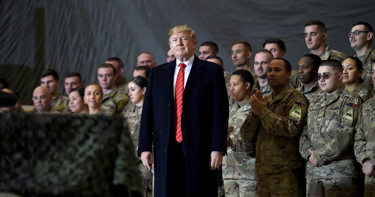 O'Brien confirms Trump ordered Pentagon to cut U.S. troops in Afghanistan to 2,500