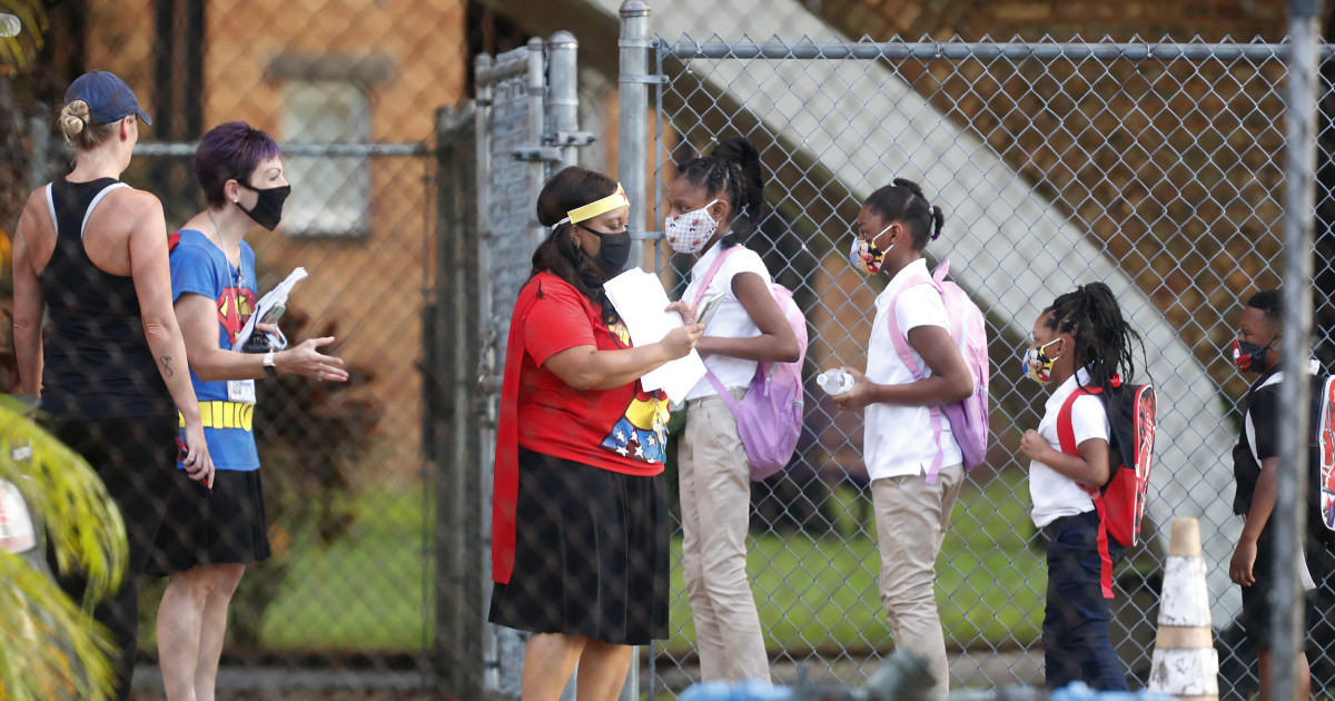 Florida students head back to class amid reports of more kids catching COVID-19