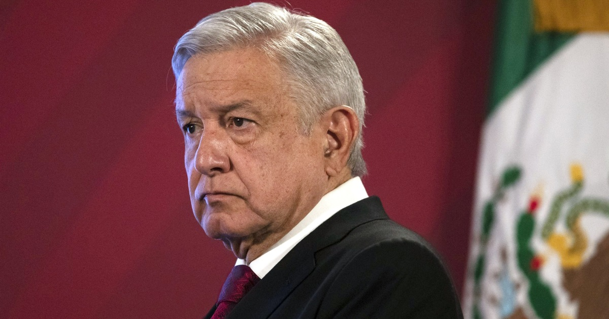 Mexican President López Obrador tests positive for Covid-19 – NBC News