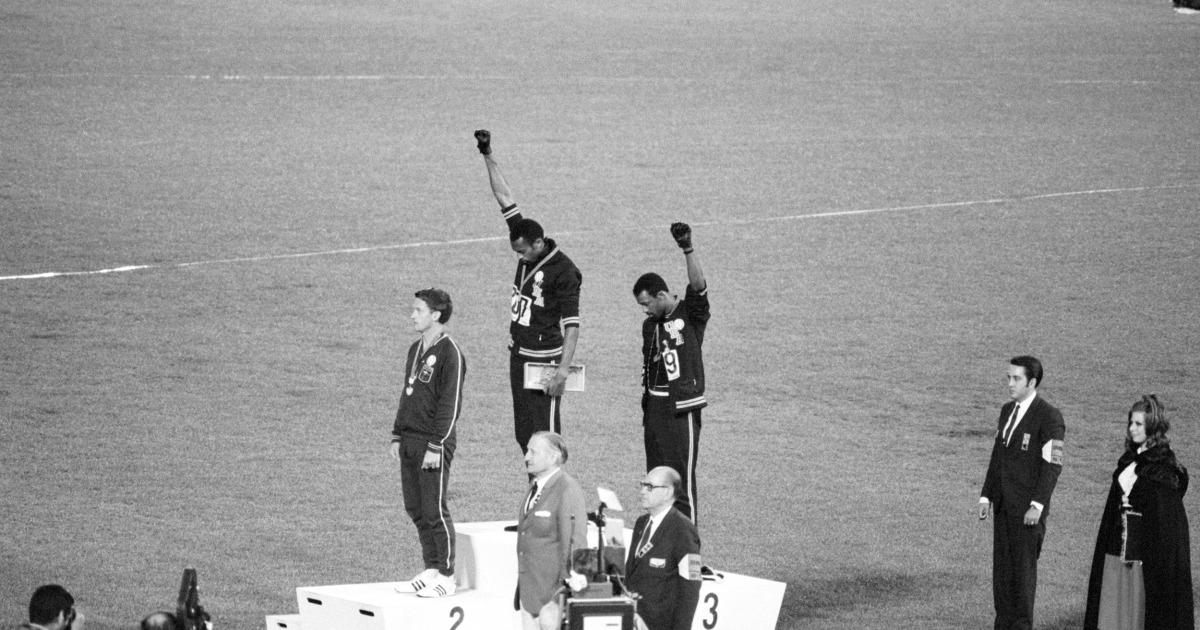 'Just the start': Olympian John Carlos on sports and activism