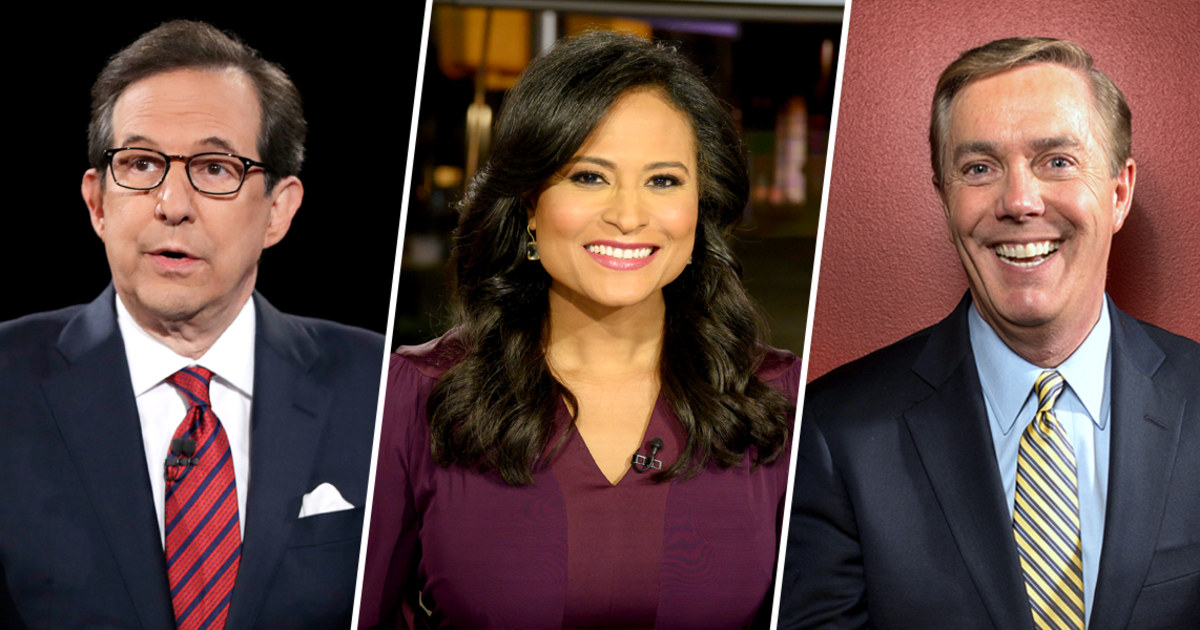 Fox News Wallace Tapped To Moderate First Trump Biden Debate Nbc S Welker Gets Third