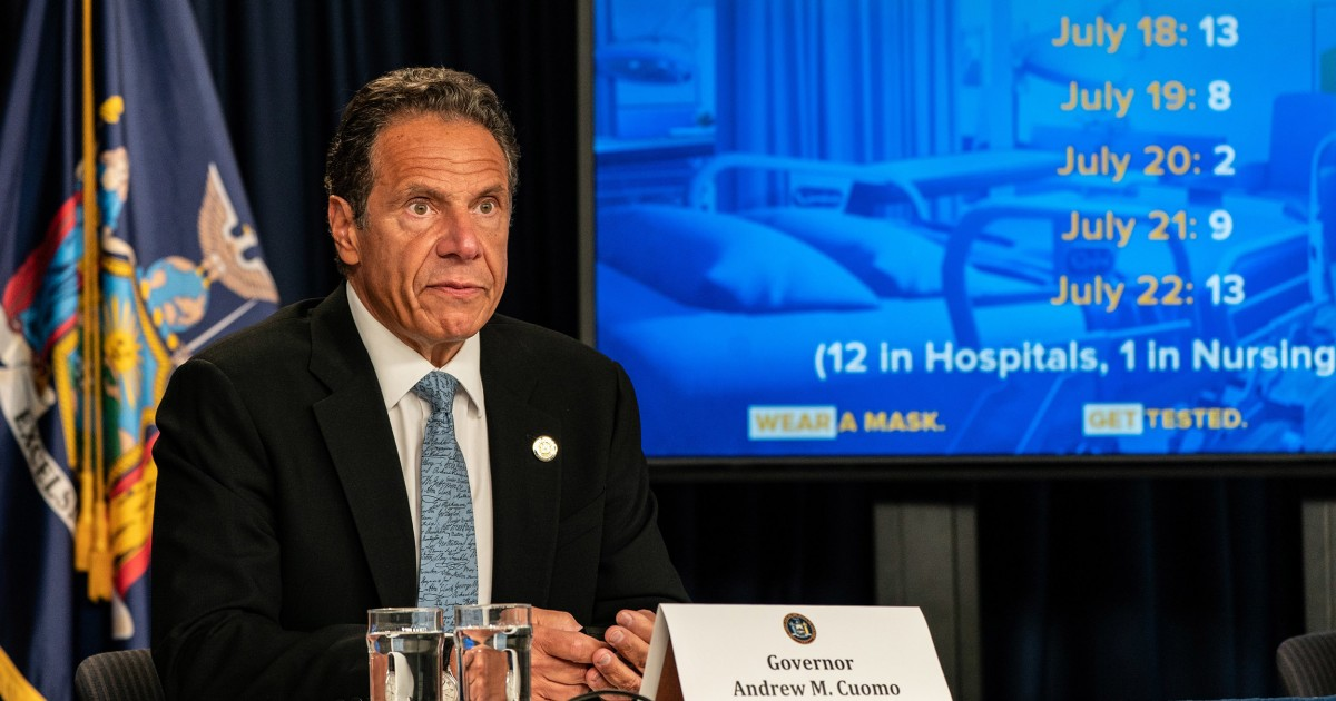 'Petty and divisive': Democratic governors mayors slam Trump for threatening to withhold funds from cities – NBC News