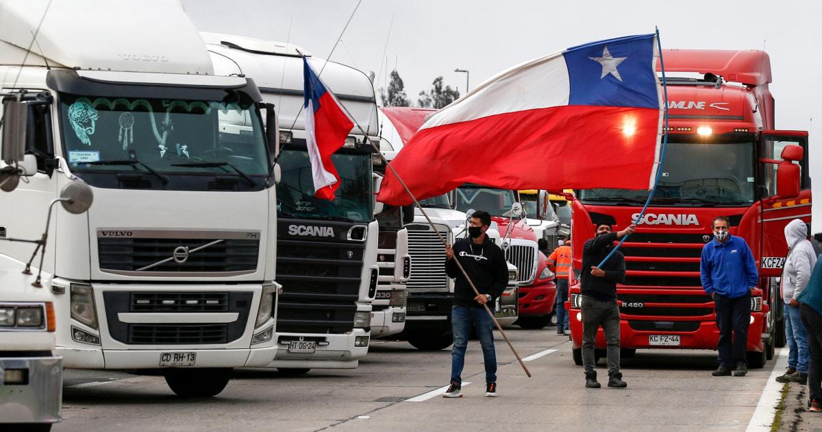 200904 truckers strike chile al 1116 3409994.