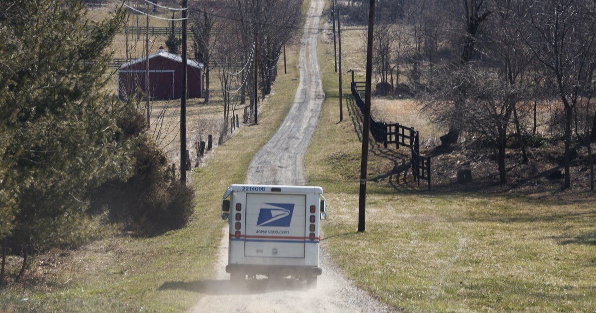 Dead chicks delayed prescriptions: Late mail leaves rural America disconnected – NBC News