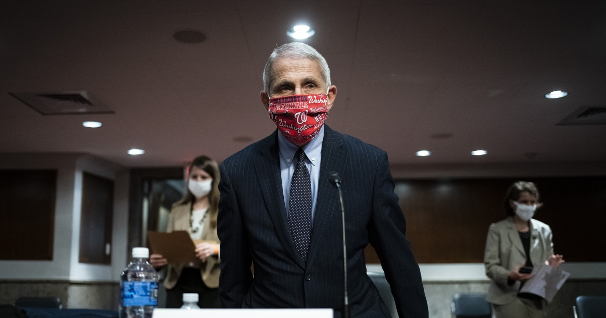 Fauci says coronavirus vaccine won't be distributed unless it's based on 'hard data'