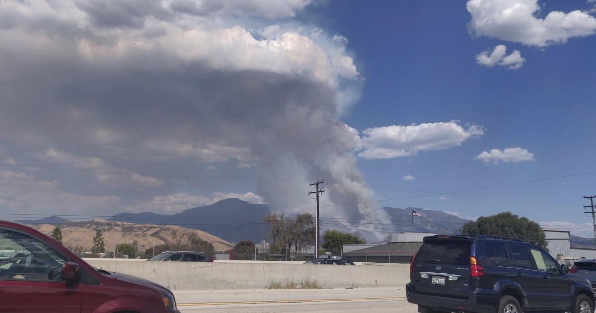 California wildfire started by pyrotechnic device used at gender-reveal party