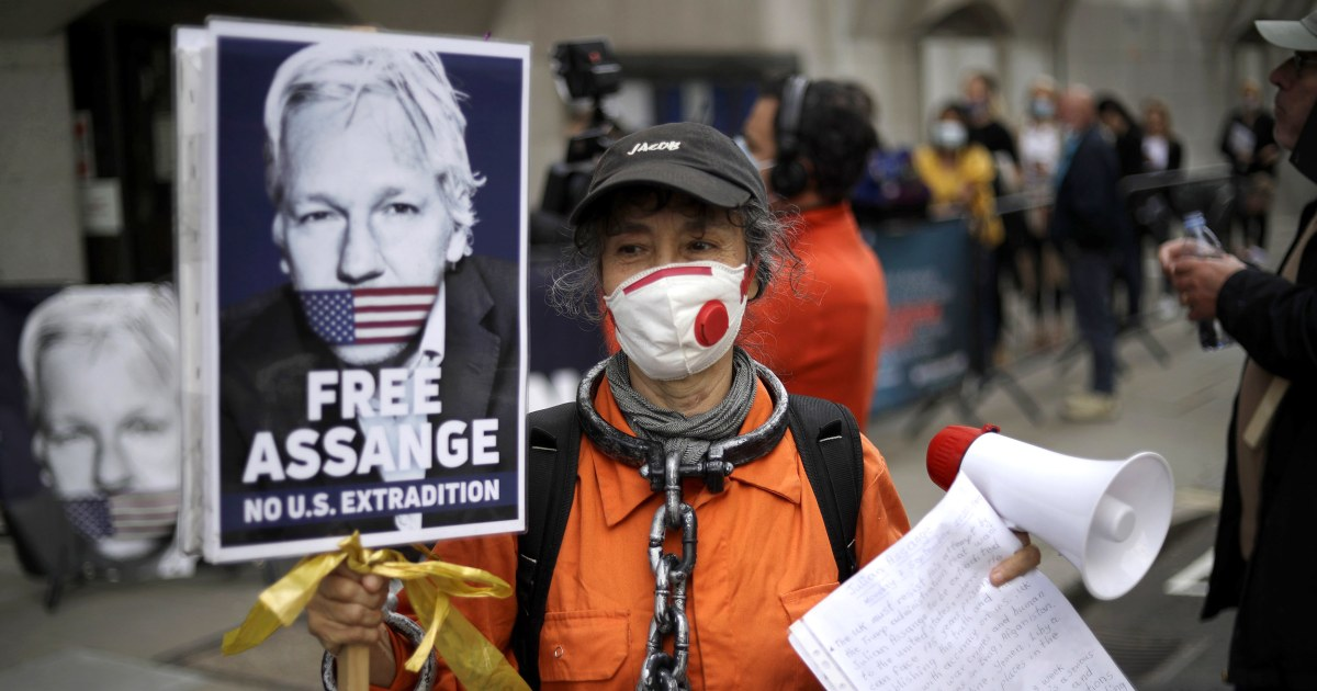 WikiLeaks founder Julian Assange appears in U.K. court to fight extradition to U.S. – NBC News