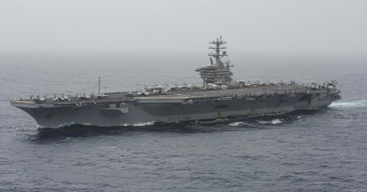 Navy conducting search and rescue for missing sailor in Arabian Sea thumbnail