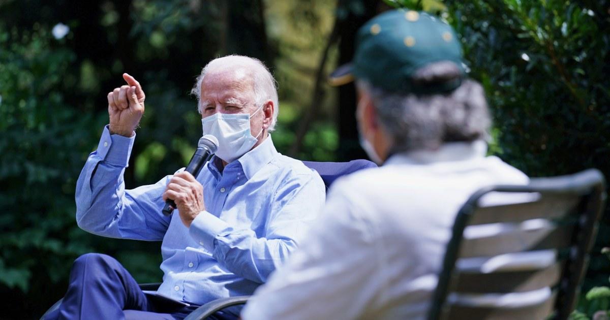 Biden Trump battle over prospect of coronavirus vaccine delivered before Election Day – NBC News
