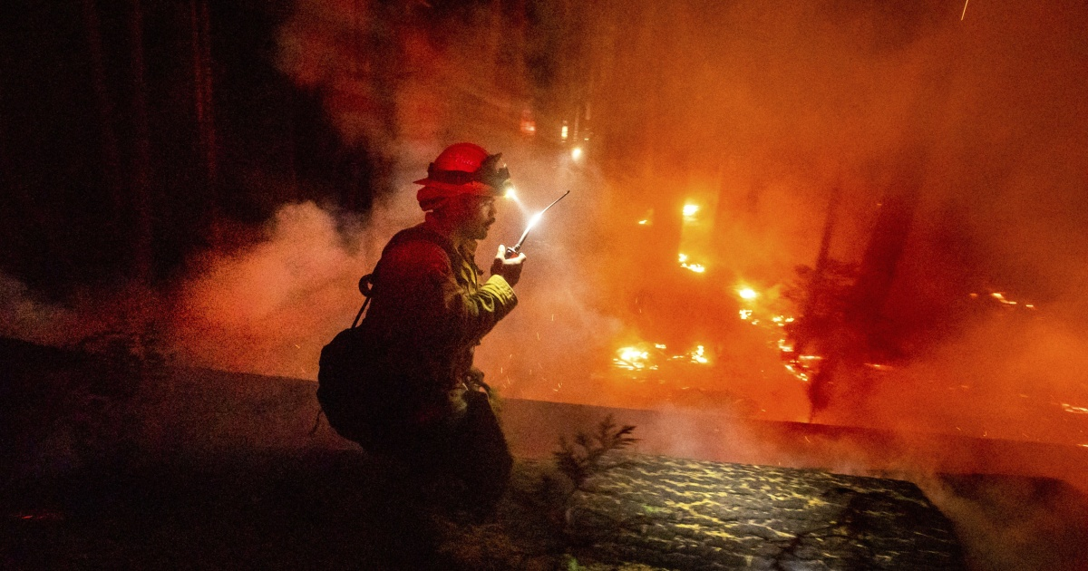 Map: More than 2 million acres burned: These are the wildfires burning across California