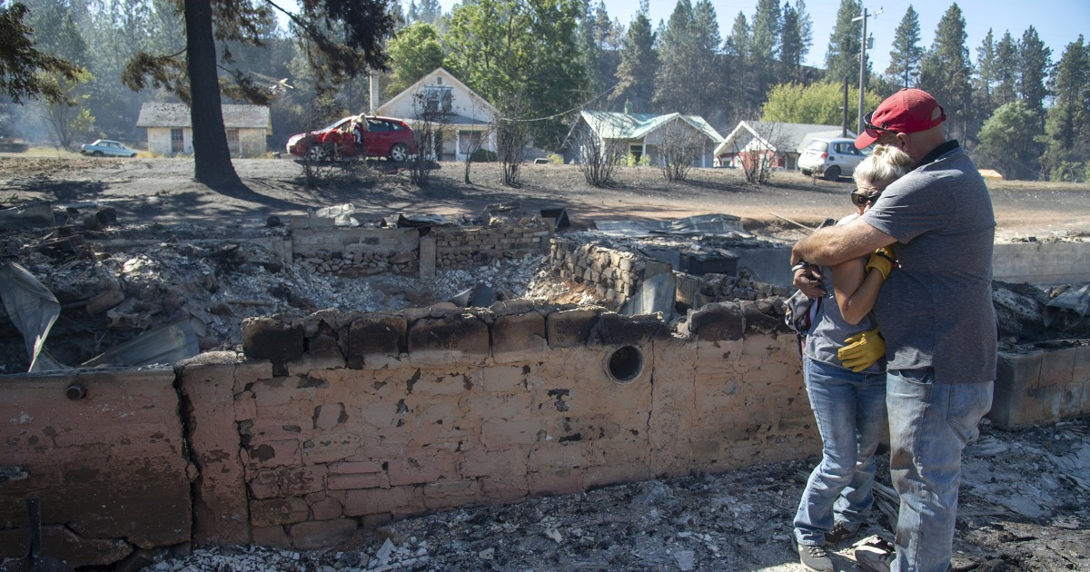 'Everything around me is gone': Washington state resident recalls saving home from Labor Day wildfire