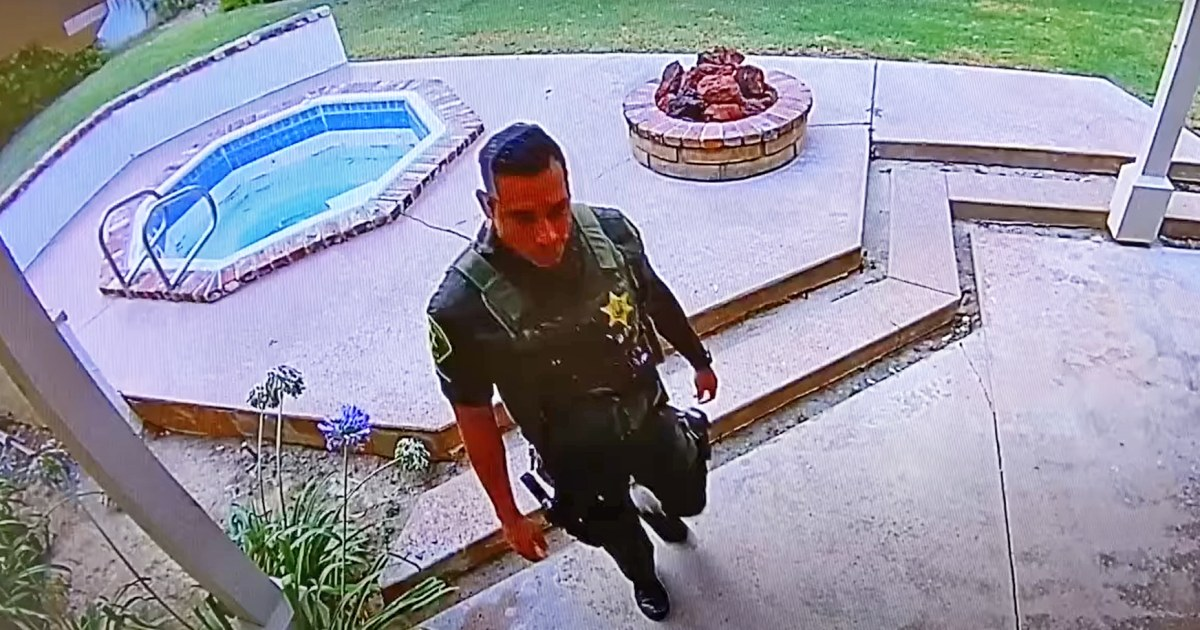 California sheriff: Deputy burglarized home after responding to death there – NBC News