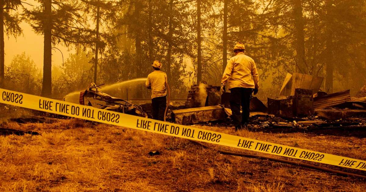 As wildfires rage, false antifa rumors spur pleas from police
