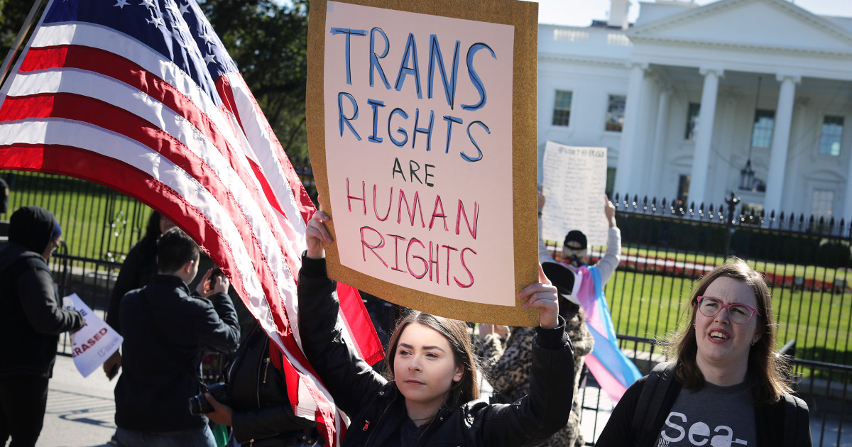 'This is about my safety': Trans Americans on November's high-stakes election