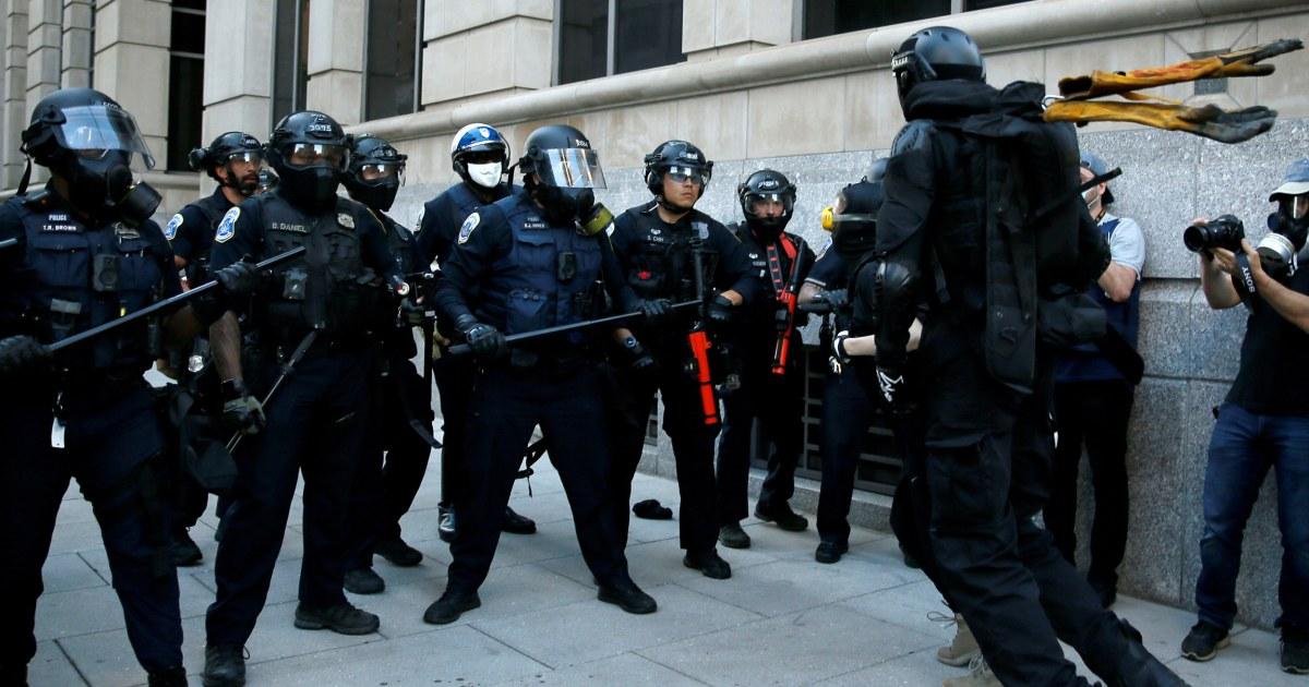 Federal officials sought 'heat ray' device before clearing D.C. protesters – NBC News