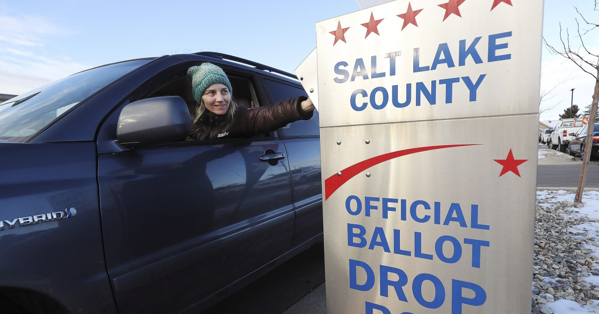 U.S. Postal Carrier sends sinful files to Utah residents about mail balloting thumbnail