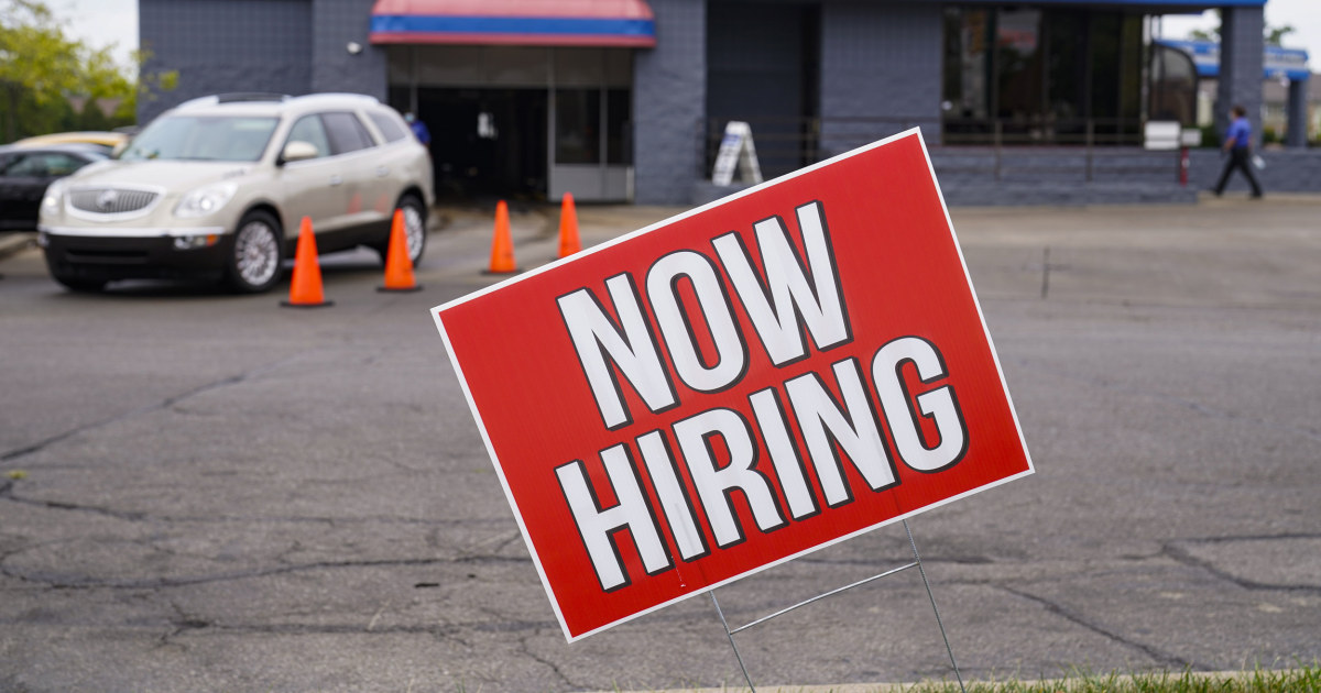 Around 860,000 people filed for first-time jobless benefits last week