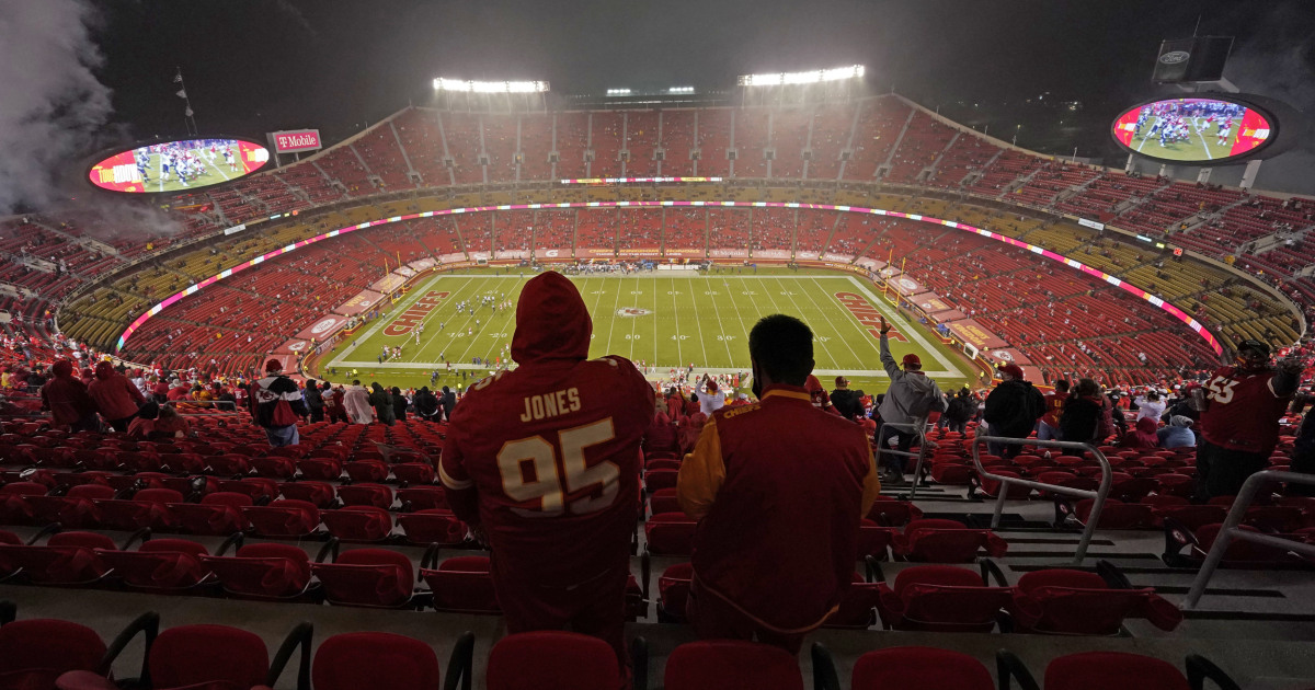 10 in quarantine after fan at Chiefs recreation tests certain for Covid-19 - NBC News thumbnail