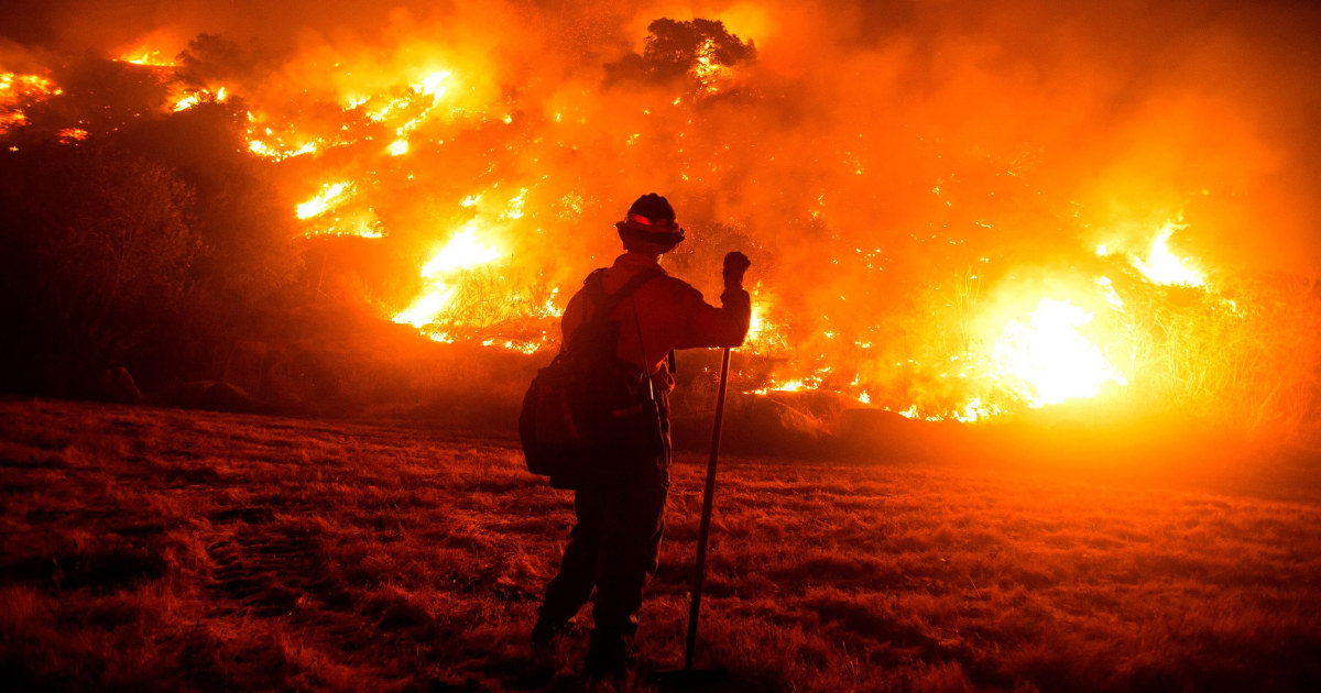 'A perfect storm': Why a California wildfire continues to elude firefighters – NBC News