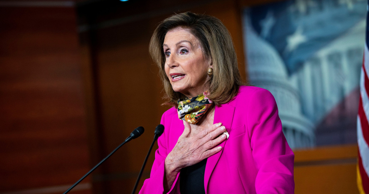 Pelosi won't rule out new impeachment to delay SCOTUS vote if Biden wins – NBC News