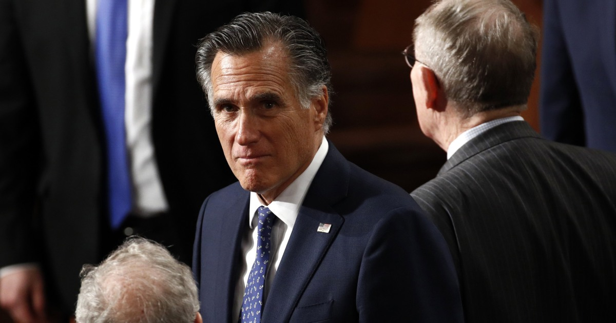 Sen. Romney signals he'll support a vote on Trump's Supreme Court pick